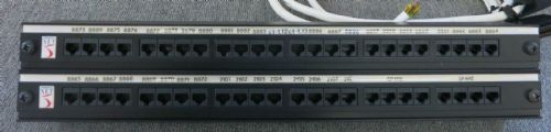 Enhanced Net 48 Port - Ethernet RJ45 Port Network Patch Panel - 1U Rack Mount